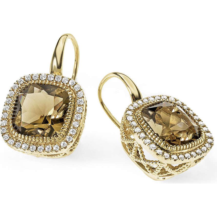 boucles d'oreille femme bijoux Ambrosia Bronzo ABO 001