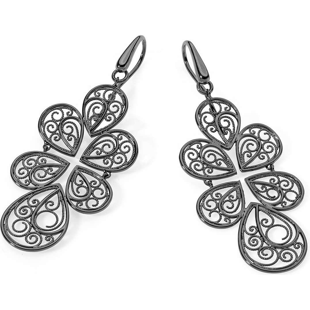 boucles d'oreille femme bijoux Ambrosia Bronzo ABO 004