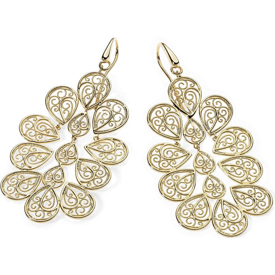 boucles d'oreille femme bijoux Ambrosia Bronzo ABO 005
