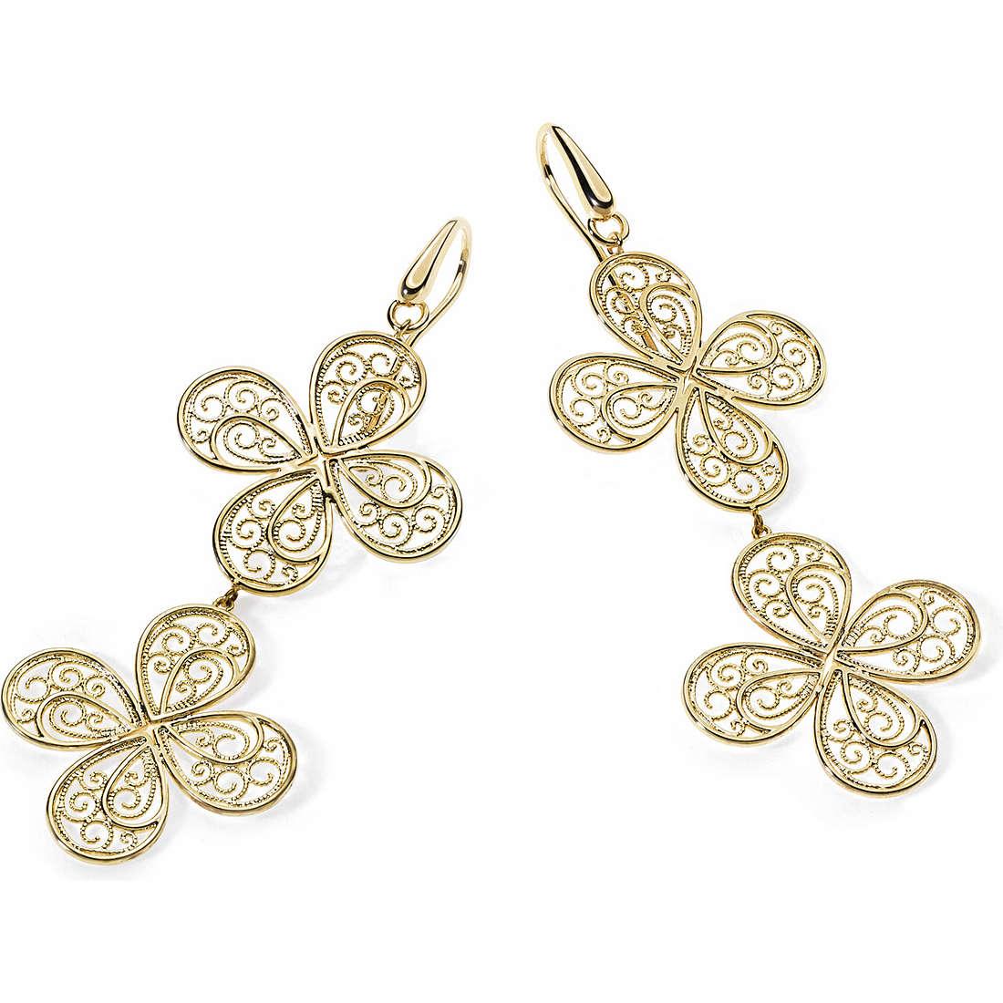 boucles d'oreille femme bijoux Ambrosia Bronzo ABO 007