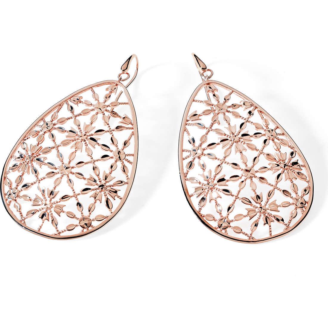 boucles d'oreille femme bijoux Ambrosia Bronzo ABO 009