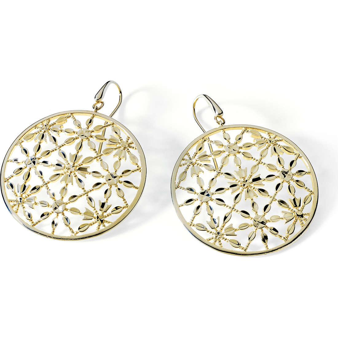 boucles d'oreille femme bijoux Ambrosia Bronzo ABO 011