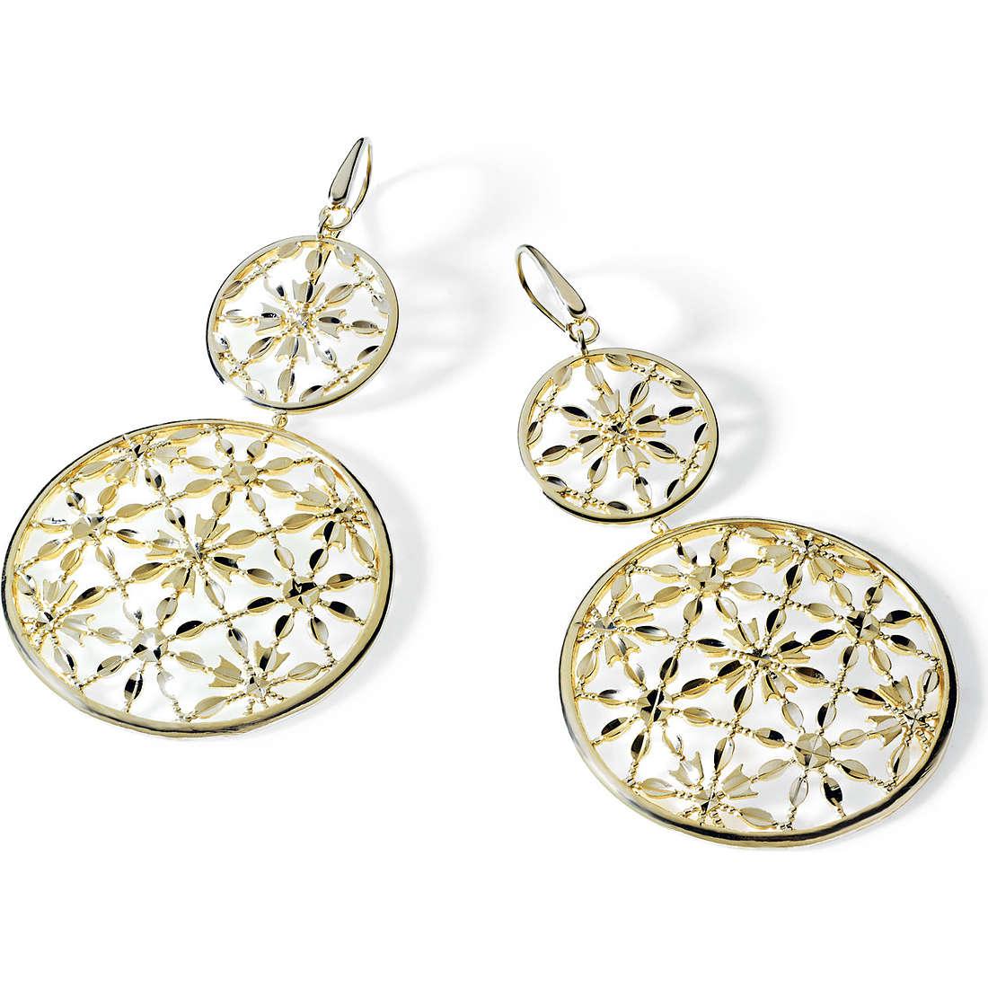 boucles d'oreille femme bijoux Ambrosia Bronzo ABO 014