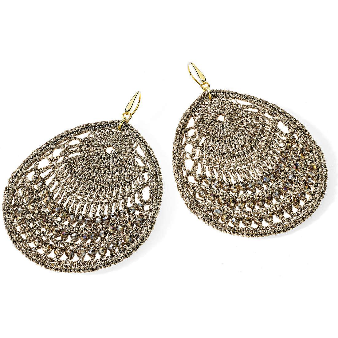 boucles d'oreille femme bijoux Ambrosia Bronzo ABO 017