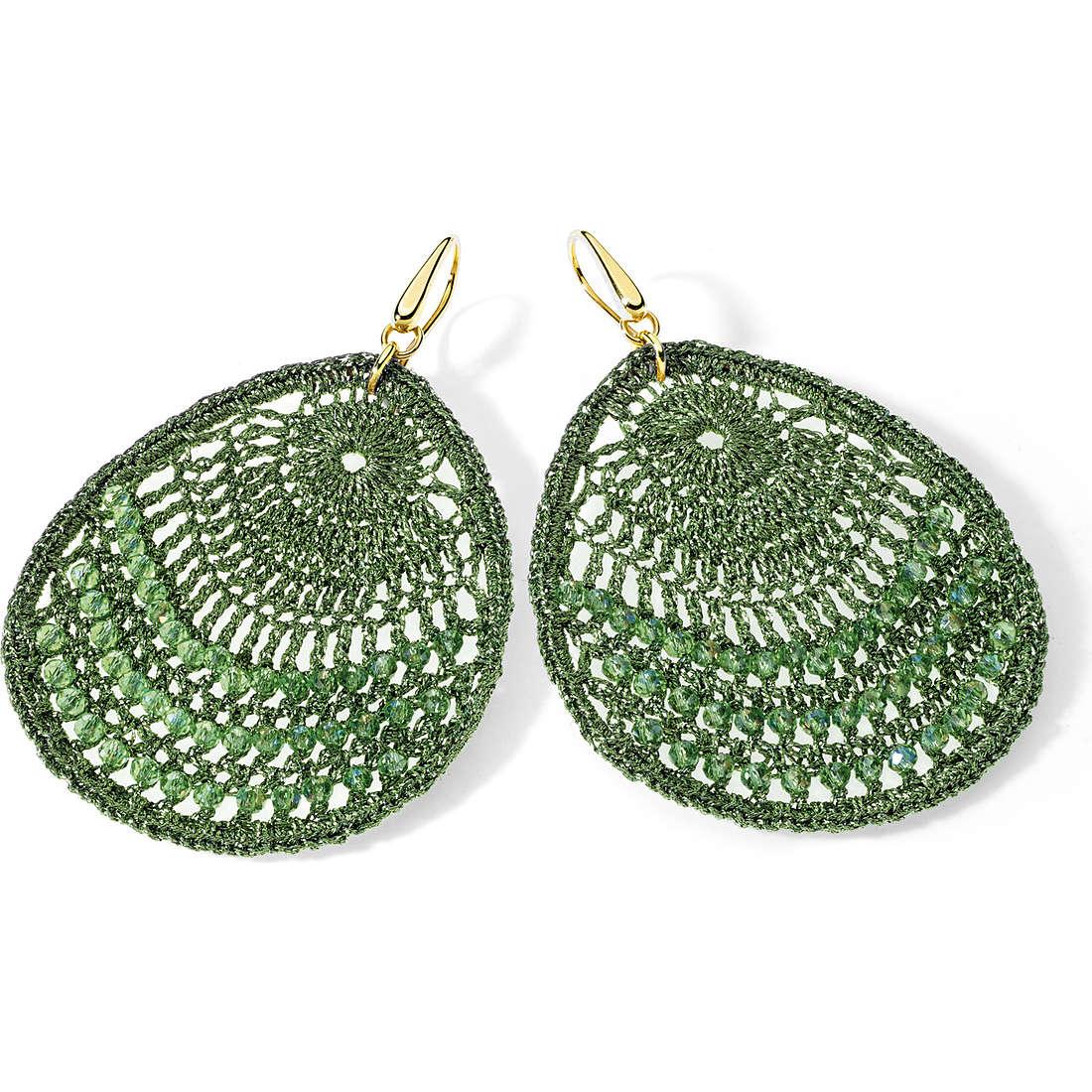 boucles d'oreille femme bijoux Ambrosia Bronzo ABO 020