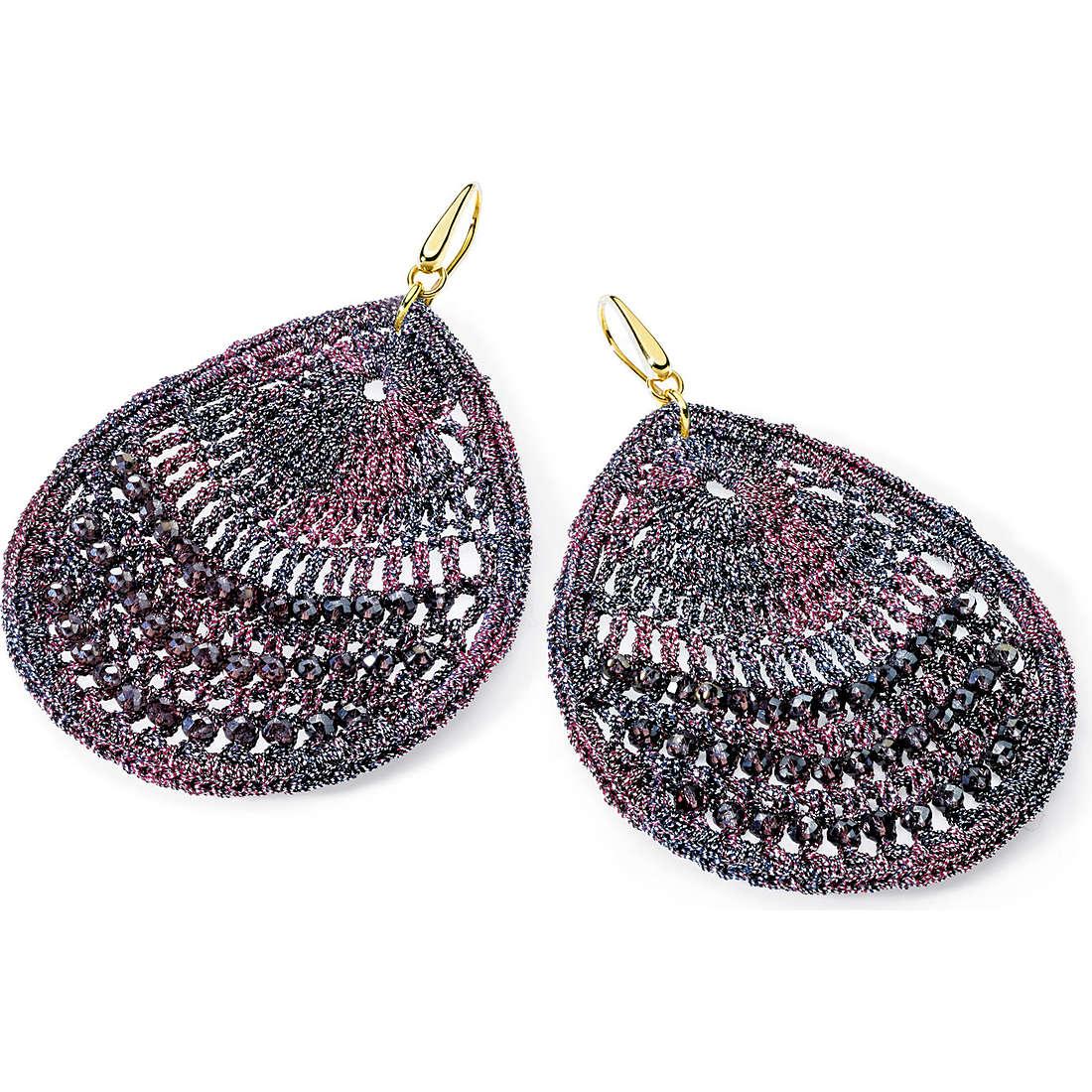 boucles d'oreille femme bijoux Ambrosia Bronzo ABO 021
