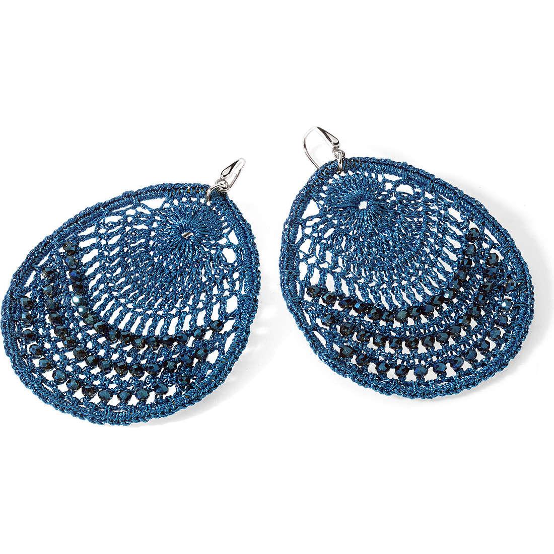 boucles d'oreille femme bijoux Ambrosia Bronzo ABO 022