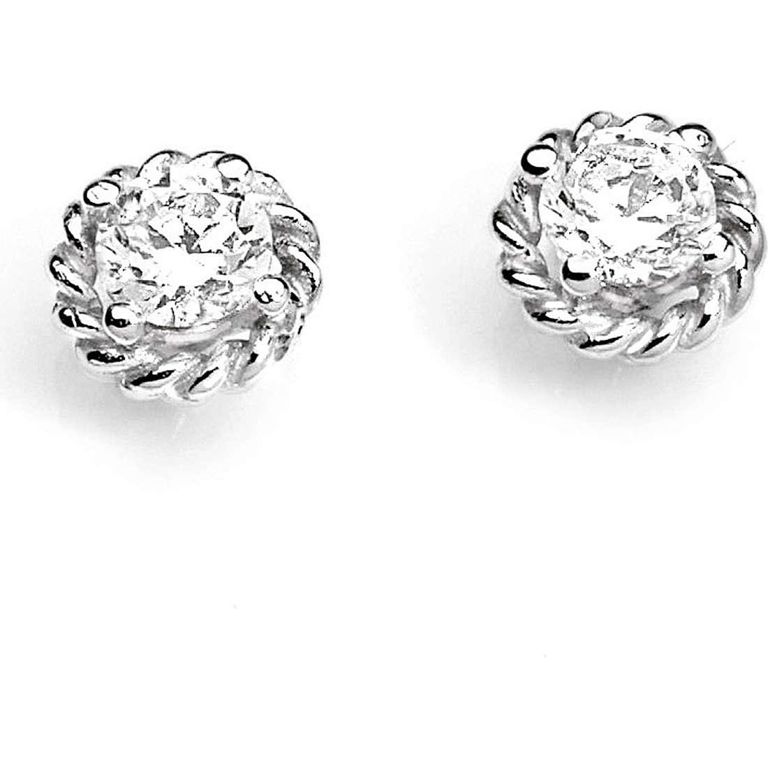 boucles d'oreille femme bijoux Ambrosia Evergreen AOZ 166