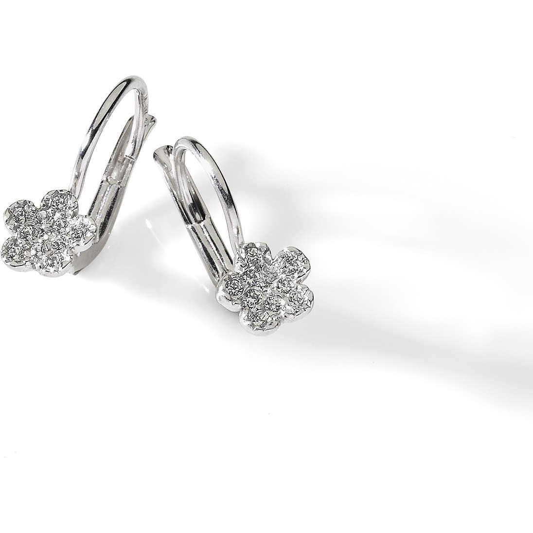 boucles d'oreille femme bijoux Ambrosia Evergreen AOZ 187