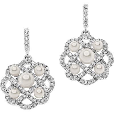 boucles d'oreille femme bijoux Ambrosia Glam Love AAO 121