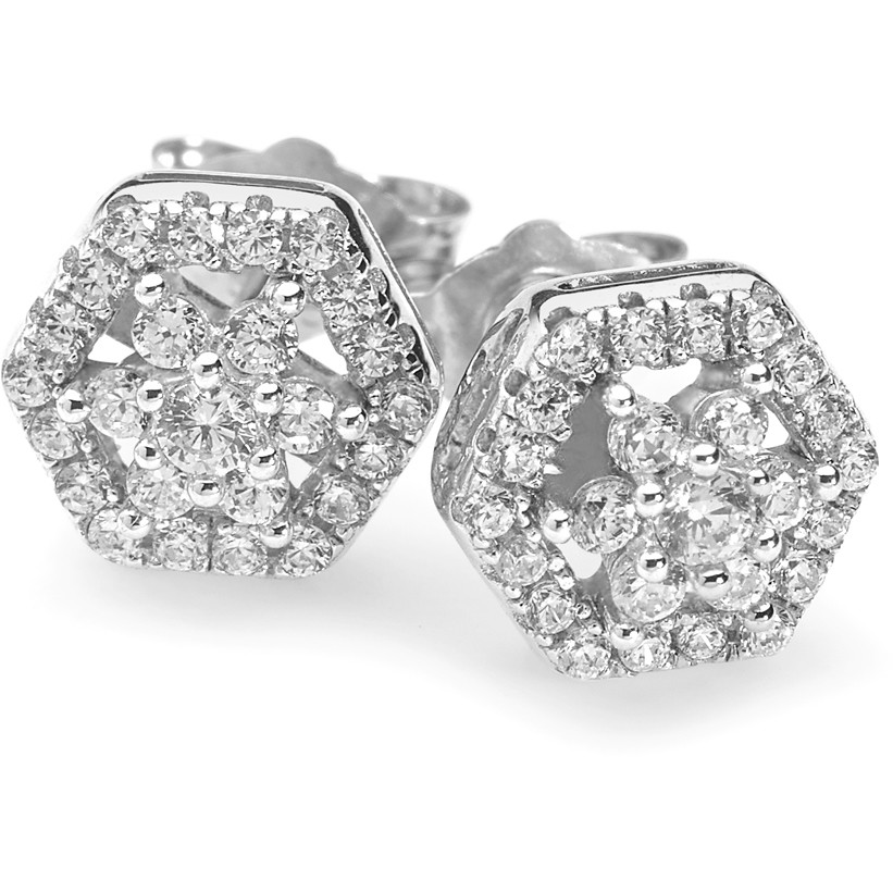 boucles d'oreille femme bijoux Ambrosia Glam Love AAO 132