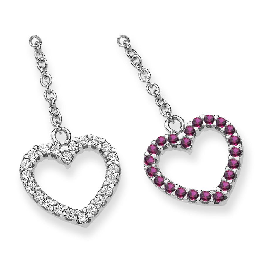 boucles d'oreille femme bijoux Ambrosia Glam Love AOZ 256