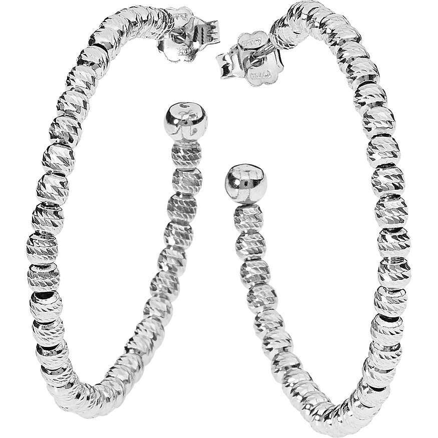 boucles d'oreille femme bijoux Ambrosia Joy Letters AAO 074