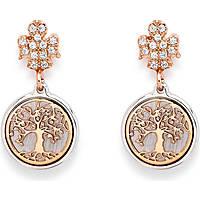 boucles d'oreille femme bijoux Amen Albero Della Vita ORAL
