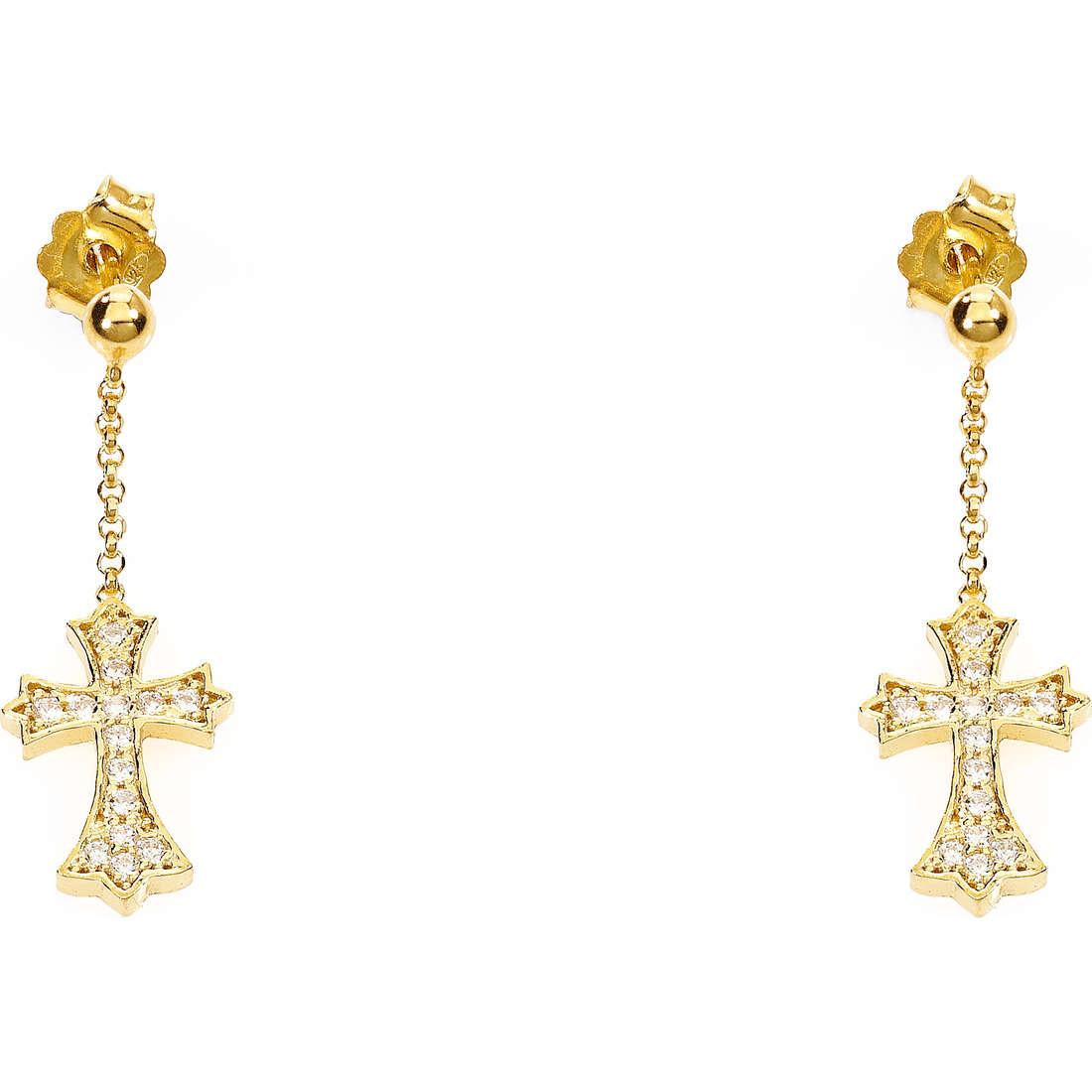 boucles d'oreille femme bijoux Amen ORCZG