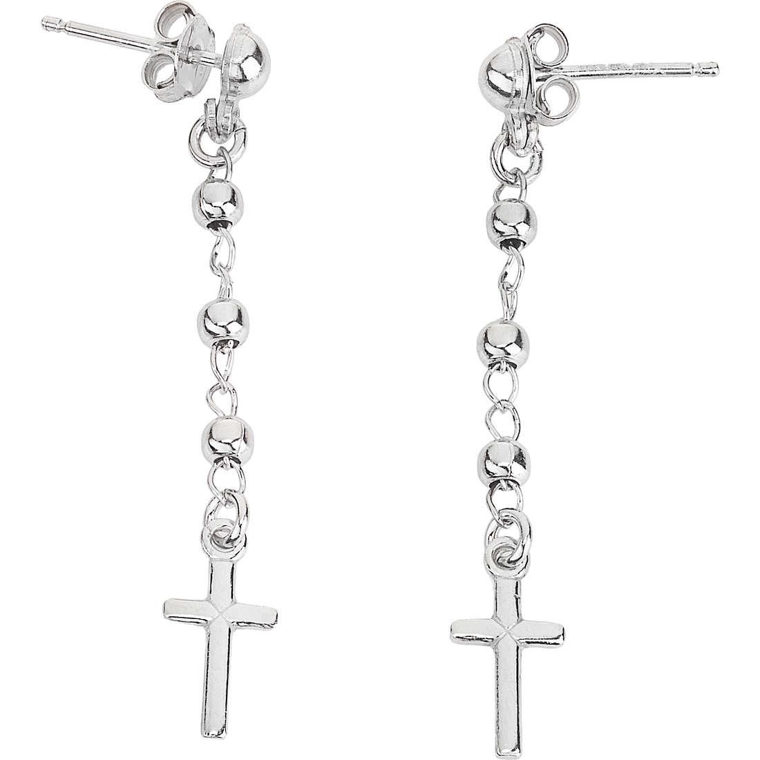boucles d'oreille femme bijoux Amen OROB1