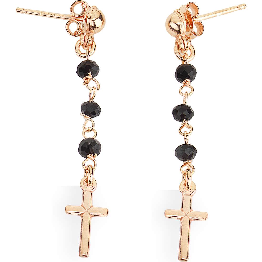 boucles d'oreille femme bijoux Amen ORORN1