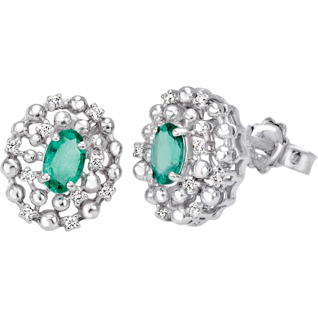 boucles d'oreille femme bijoux Bliss Champagne 20070091