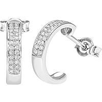 boucles d'oreille femme bijoux Bliss Classic Pave' 20064431