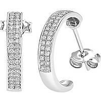 boucles d'oreille femme bijoux Bliss Classic Pave' 20064432