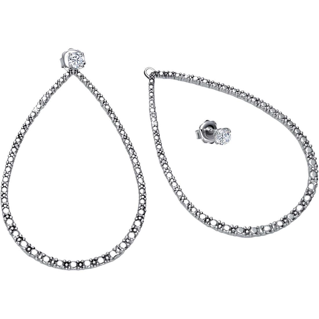 boucles d'oreille femme bijoux Bliss Jade 20061223