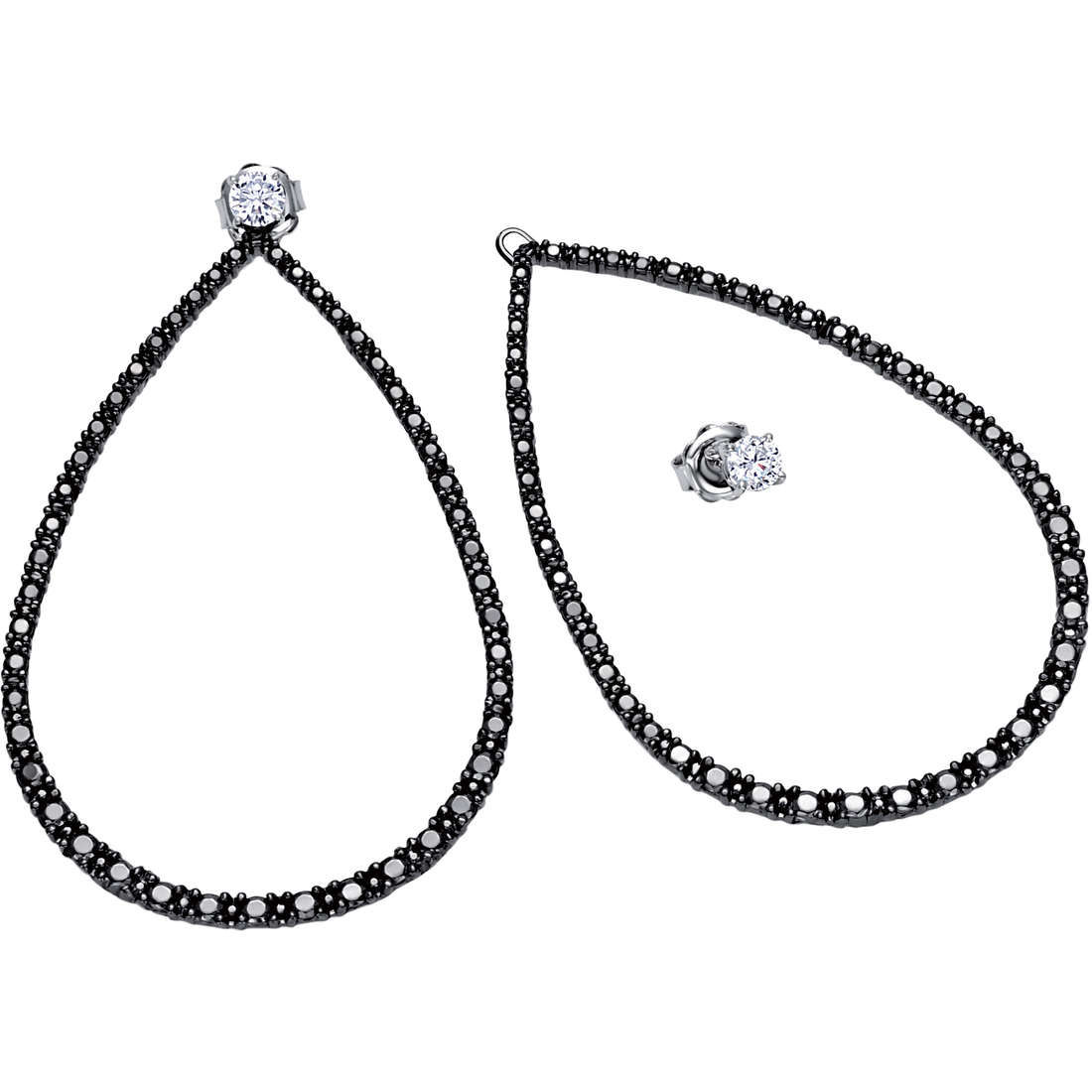 boucles d'oreille femme bijoux Bliss Jade 20061224