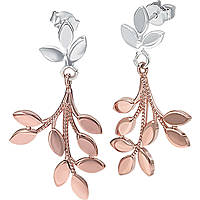 boucles d'oreille femme bijoux Bliss Leaves 20071638