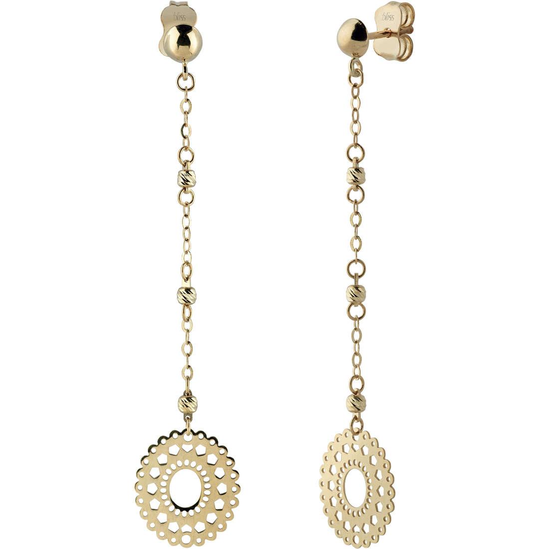 boucles d'oreille femme bijoux Bliss Organza 20071222