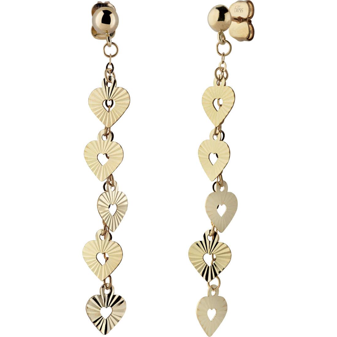 boucles d'oreille femme bijoux Bliss Organza 20071226