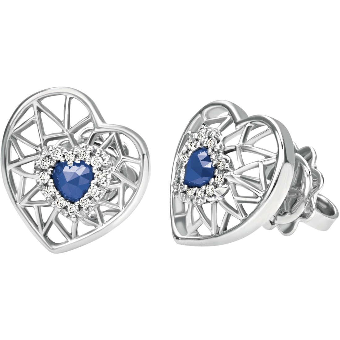 boucles d'oreille femme bijoux Bliss Regina Di Cuori 20070735