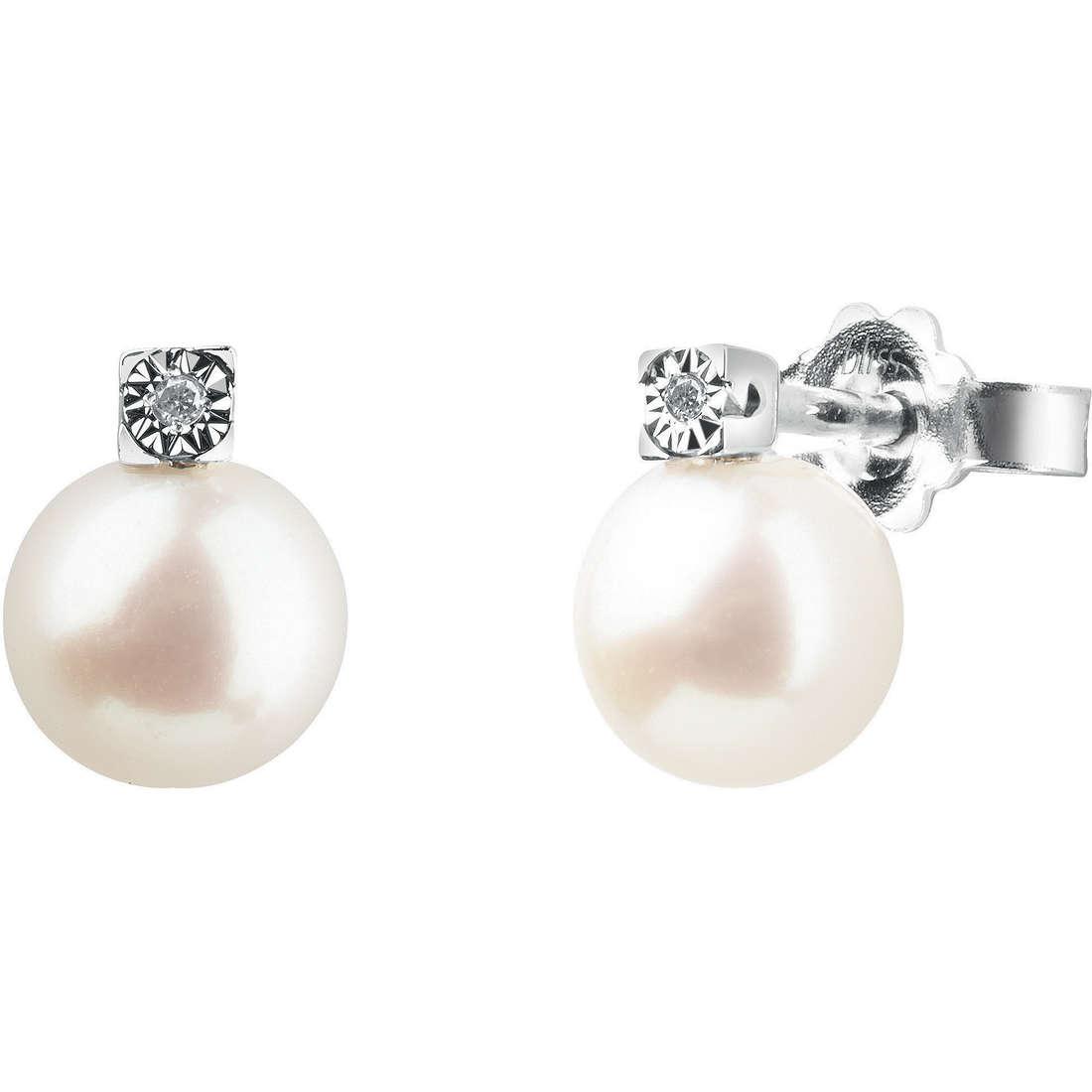 boucles d'oreille femme bijoux Bliss Rugiada Perle 20070780