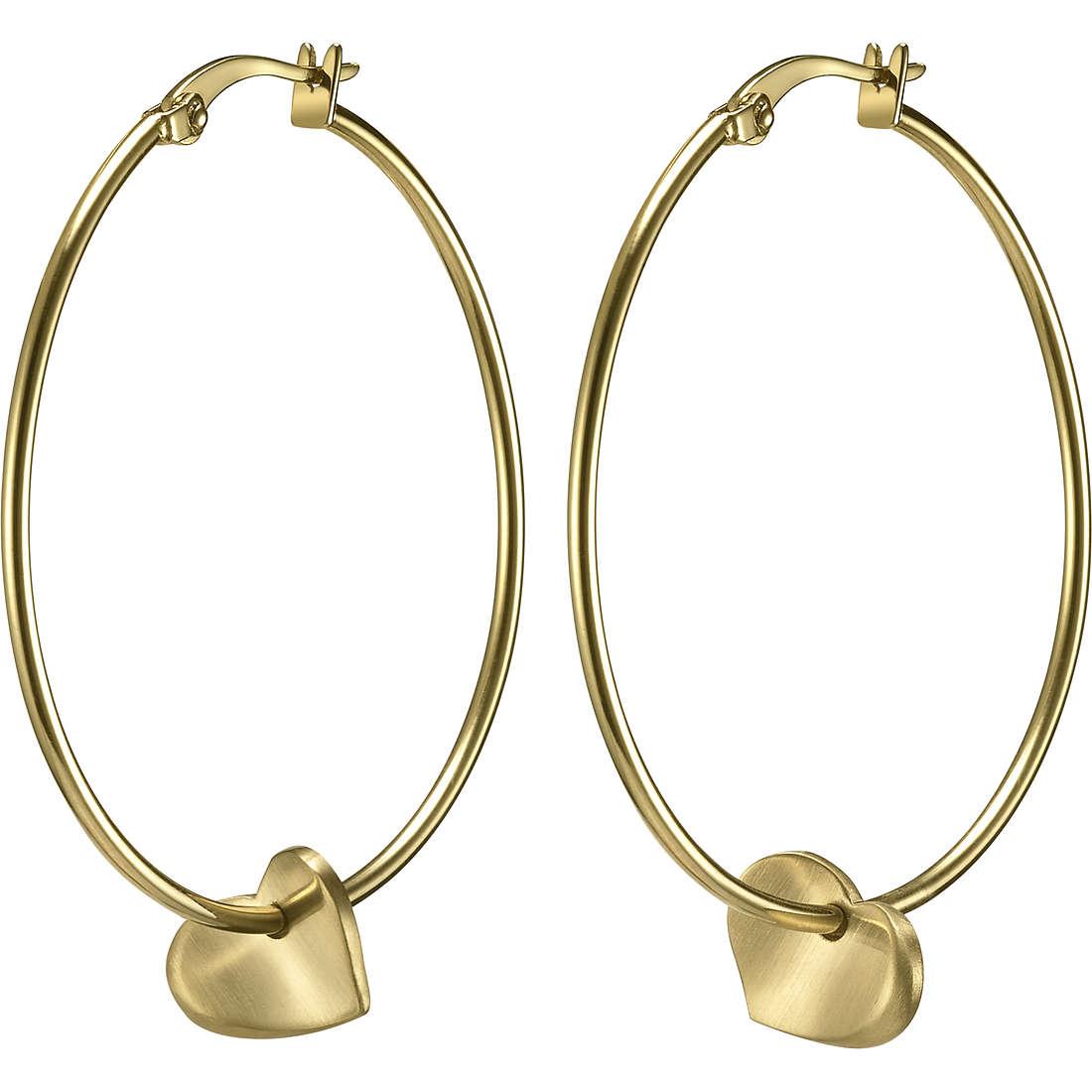 boucles d'oreille femme bijoux Breil Beat Flavor TJ1494