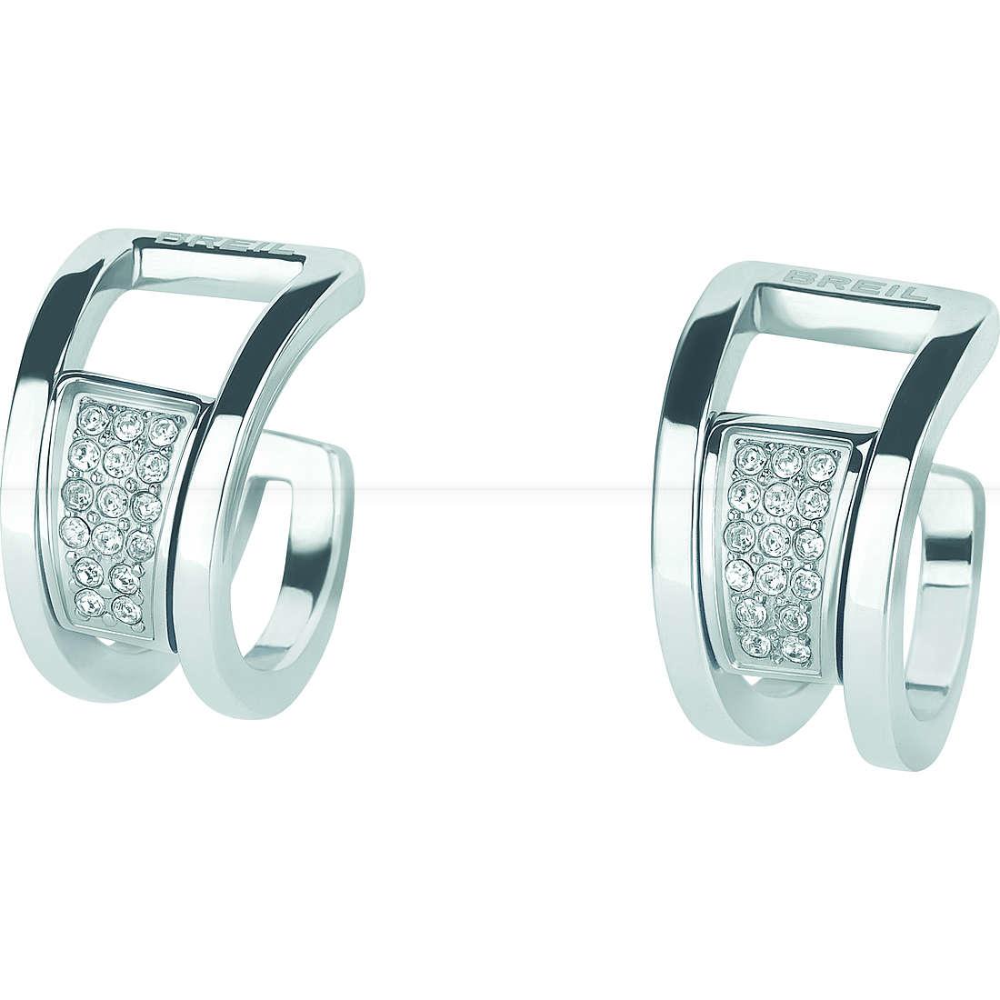 boucles d'oreille femme bijoux Breil Breilogy Extension TJ1811