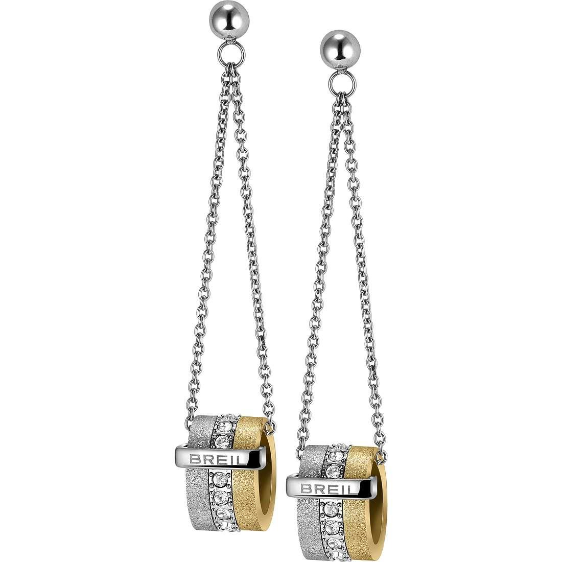 boucles d'oreille femme bijoux Breil Breilogy TJ1429
