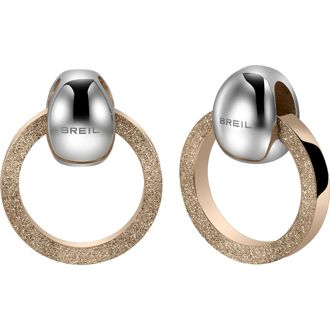 boucles d'oreille femme bijoux Breil Breilogy TJ1690