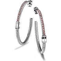boucles d'oreille femme bijoux Breil Breilogy Torsion TJ1714