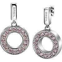 boucles d'oreille femme bijoux Breil Breilogy Torsion TJ1735