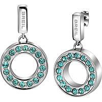 boucles d'oreille femme bijoux Breil Breilogy Torsion TJ1736