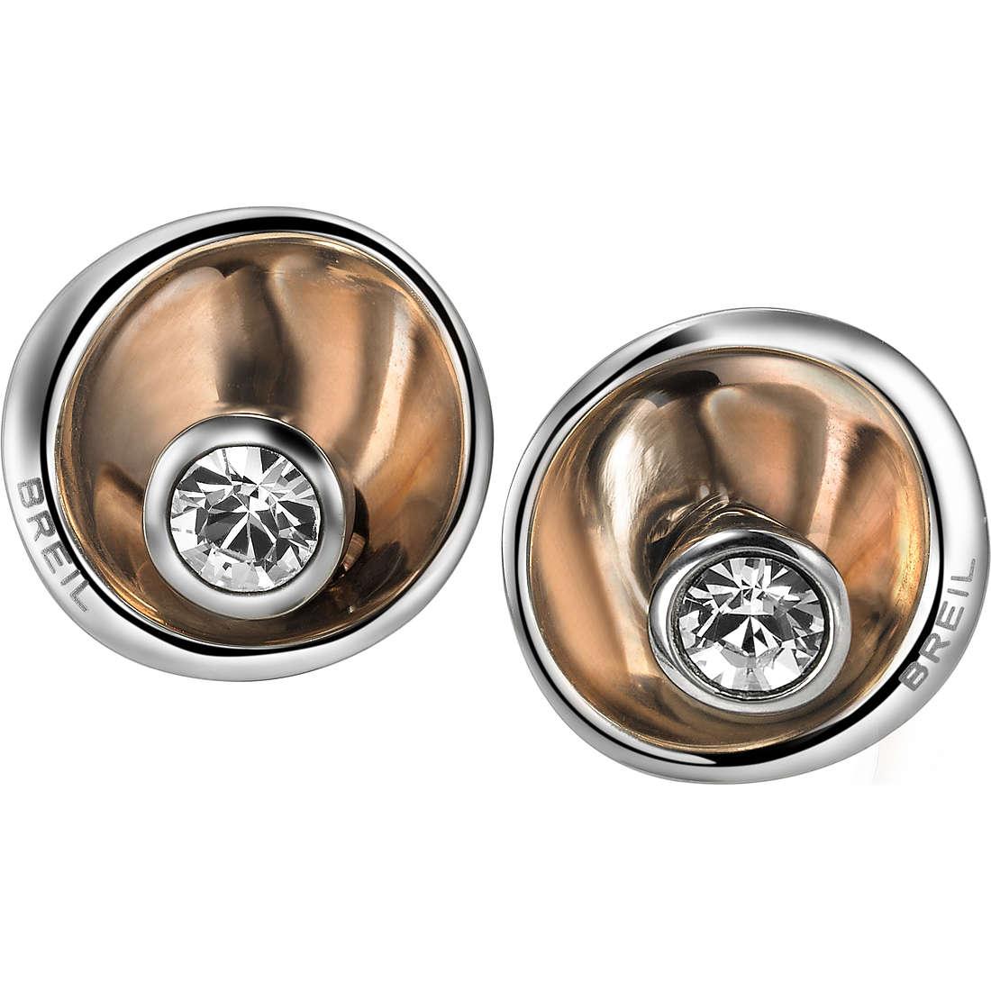 boucles d'oreille femme bijoux Breil Celebrate TJ1649