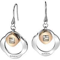 boucles d'oreille femme bijoux Breil Crossing Love TJ1580