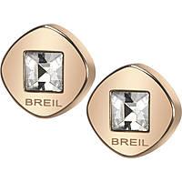 boucles d'oreille femme bijoux Breil Crossing Love TJ1582