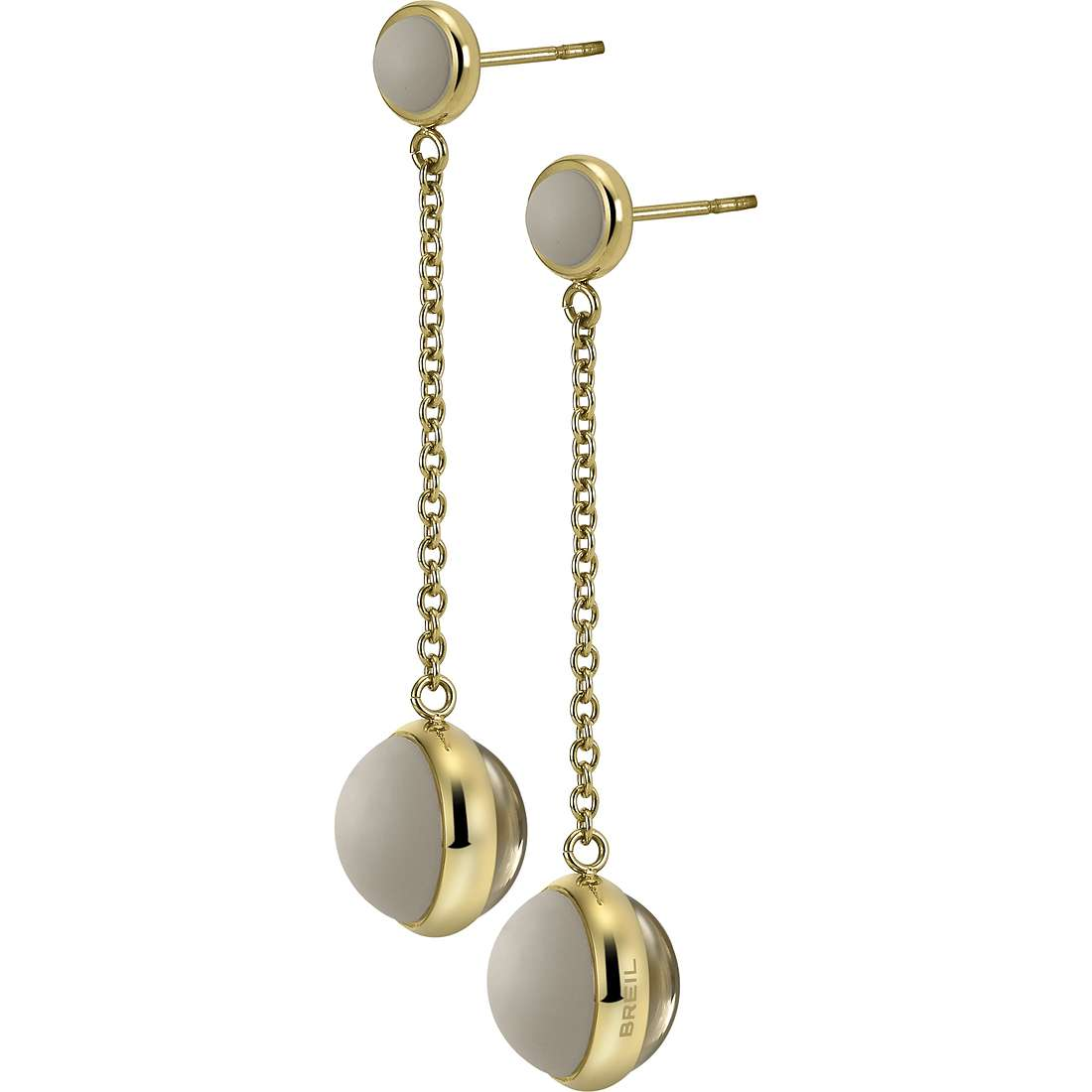 boucles d'oreille femme bijoux Breil Glassy TJ1742