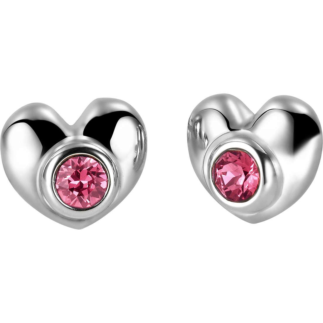 boucles d'oreille femme bijoux Breil Love Around TJ1703