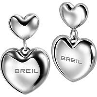 boucles d'oreille femme bijoux Breil Love Around TJ1707