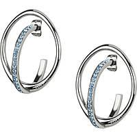 boucles d'oreille femme bijoux Breil Mezzanotte TJ2187