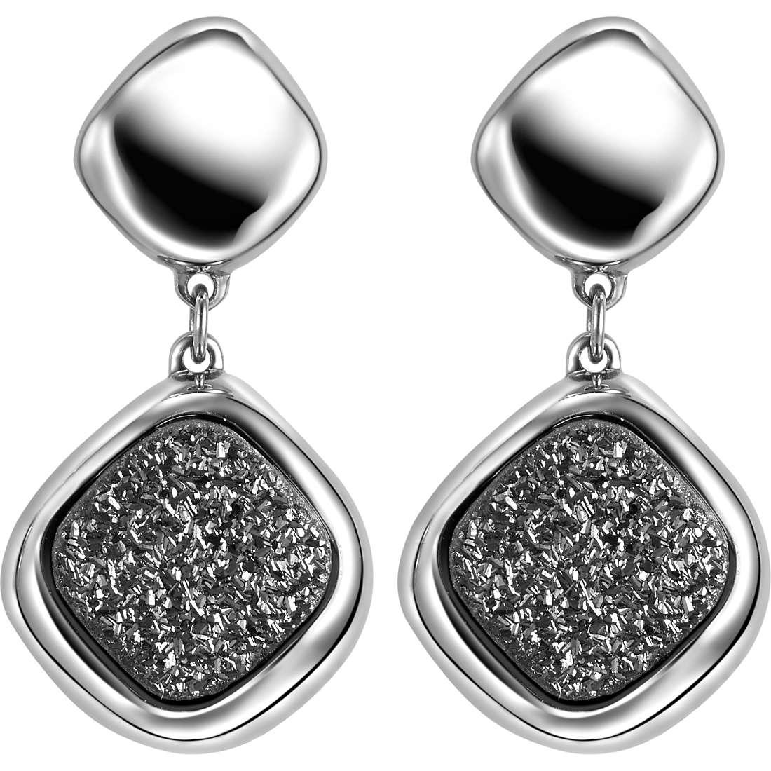 boucles d'oreille femme bijoux Breil Moonrock TJ1477
