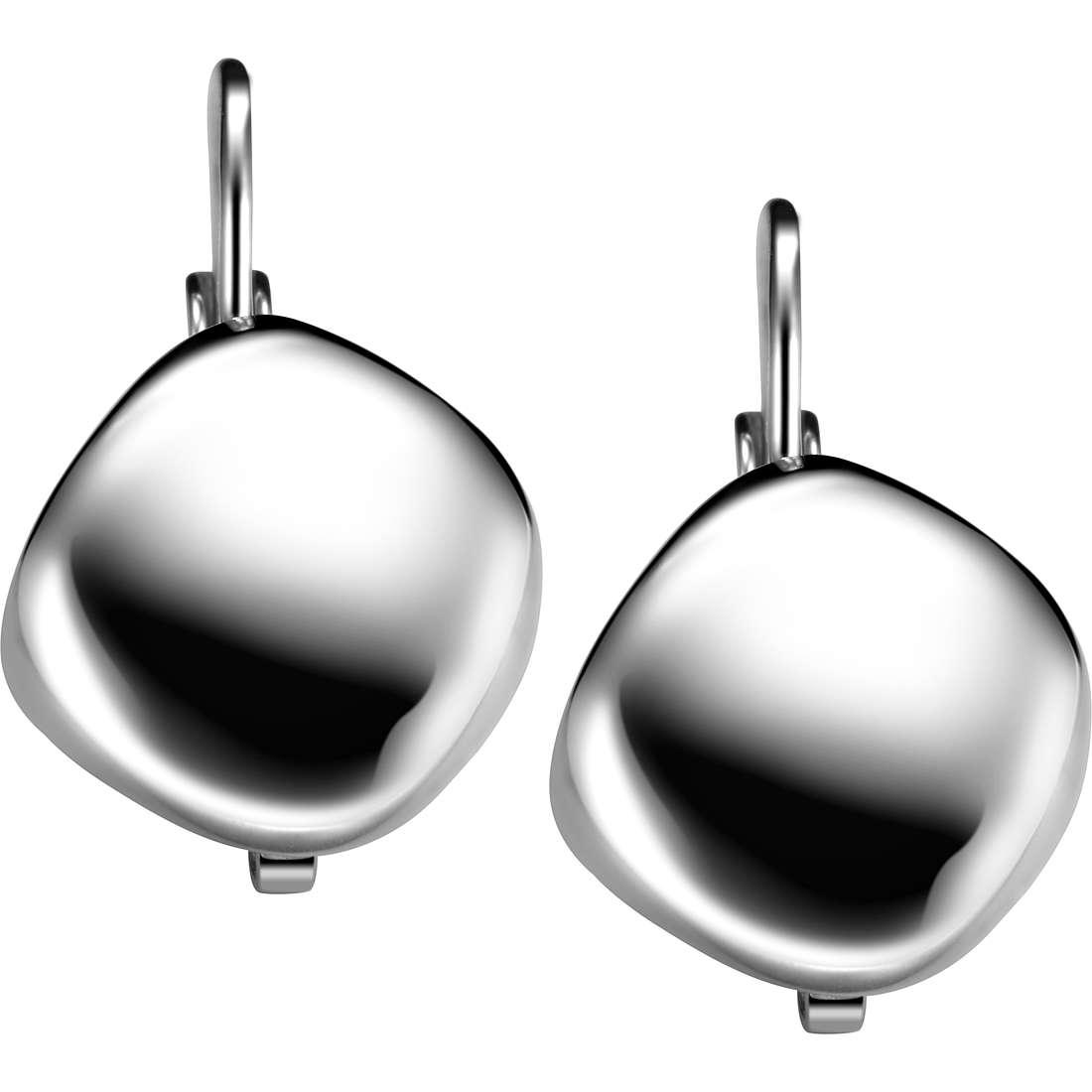 boucles d'oreille femme bijoux Breil Moonrock TJ1483