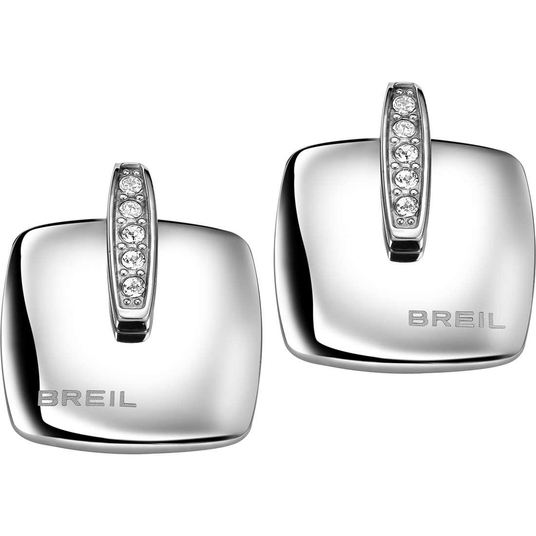 boucles d'oreille femme bijoux Breil New Blast TJ1611
