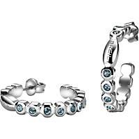 boucles d'oreille femme bijoux Breil Rolling Diamonts TJ1573