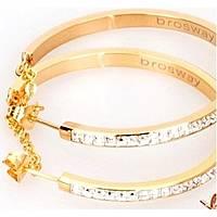 boucles d'oreille femme bijoux Brosway Btring BER21